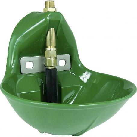 Rohrventil-Becken Mod. 10P robuste Kunststoffschale