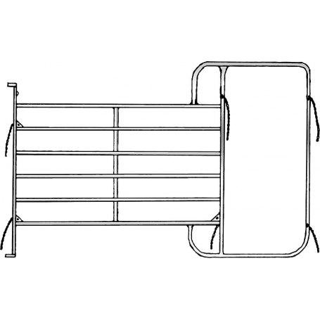 Panel mit Rahmen