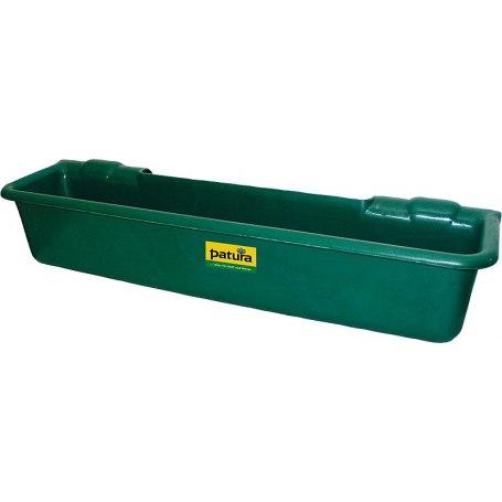 Kunststoff-Langtrog, 50 Liter, zum Einhängen in Rohre
