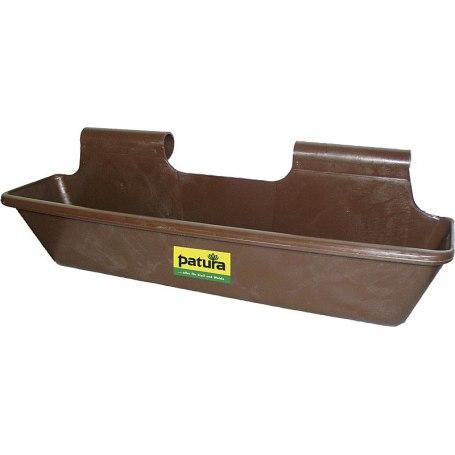 Patura Kunststoff-Langtrog, 50 Liter, Einhängevorrichtung hoch