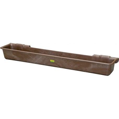 Patura Kunststoff-Langtrog, 100 Liter, zum Einhängen in Rohre