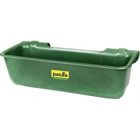 Patura Kunststoff-Langtrog, 32 Liter, zum Einhängen in Rohre
