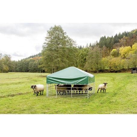 Steckfix-Dach 2,75 m x 2,75 m von Patura für Schafe