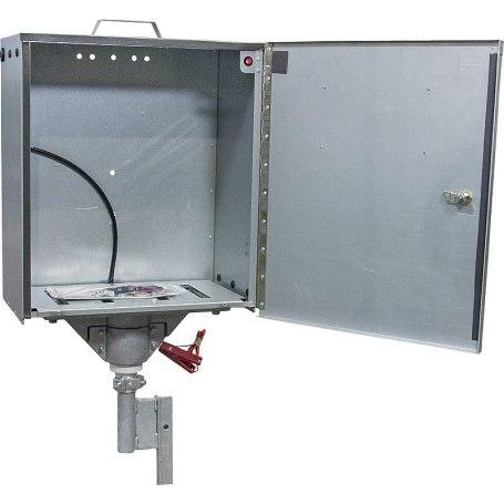 Sicherheitsbox für PATURA Geräte mit Verkabelung und Erdstab Mod. 2010