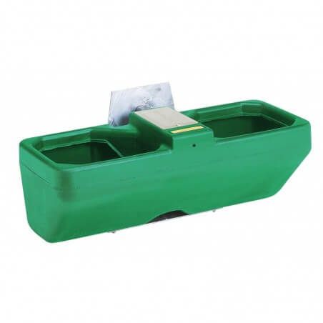 Anbau-Doppeltränke Mod. Biglac 55 T Inhalt 55 l, Niederdruck-Schwimmerventil