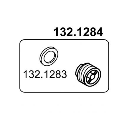Gewindestopfen kpl. mit Flachdichtungzu Mod. 630, 640, 850, 860
