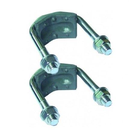Suevia Doppelklemme für 1 1/4'' bis 2'' passend für Mod. 115, 19R und 25R