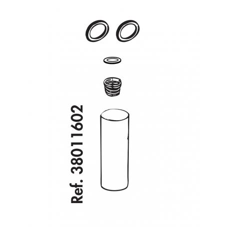 Reparatur-Set für Rohrventil-Becken Compact Edelstahl