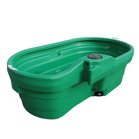 Weidetränke, oval, 950 Liter, ohne Schwimmerventil