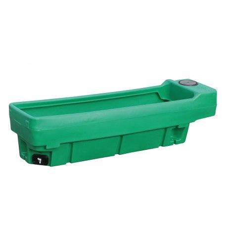 Patura Weidetränke, eckig, 200 Liter, geeignet für Pferde, Ponies, Kühe und Rinder.