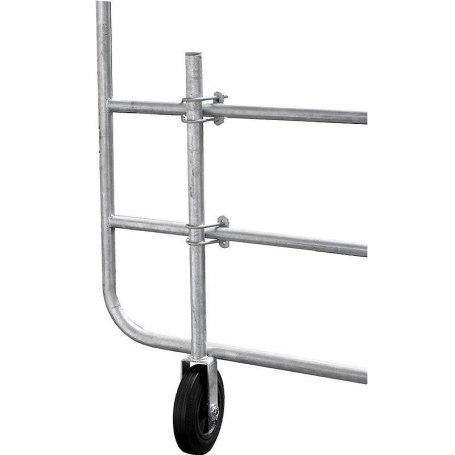 Stützrad für Weidetore verstellbar, 303452