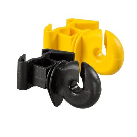 Ringisolator für T-Pfosten gelb und schwarz, 174325, 174225