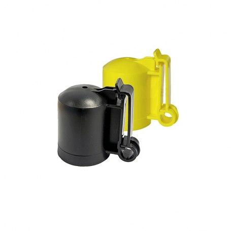 171210, 173210 Schwarz und gelb Kappen-Isolator für T-Pfosten/ Y-Pfosten