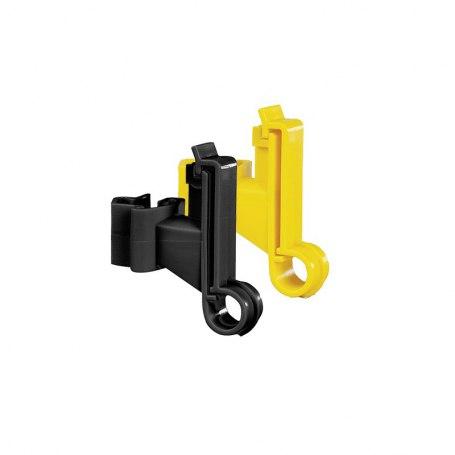 173125 Breitband-Isolator schwarz und gelb