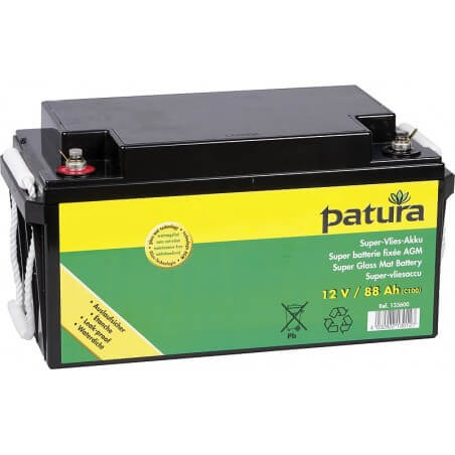 133600 Super-Vlies-Akku 12 V / 88 Ah C100 wartungsfreie Vliesbatterie