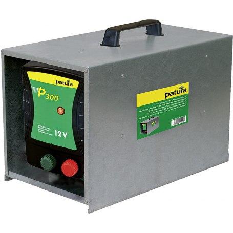 146310 P300, Weidezaun-Gerät für 12 V Akku mit Tragebox