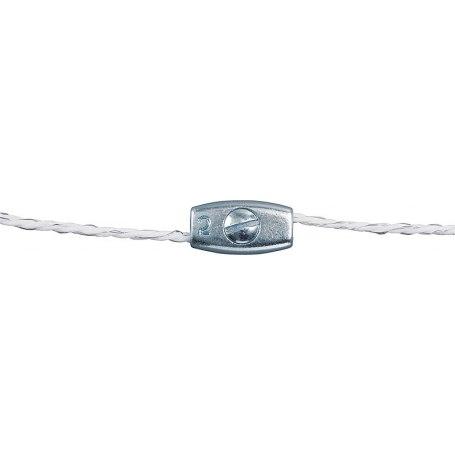 Litzenverbinder verzinkt. für Litzen bis 2.5 mm