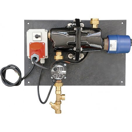 Umlaufheizsystem Modell 300, 400 V, mit Thermostat und Umlaufpumpe