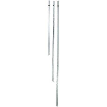 161800-161801-161802 Erdstab, verzinkter T-Stahl
