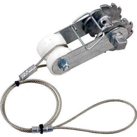 Ratschenspanner mit Isolator und Seil, 164621
