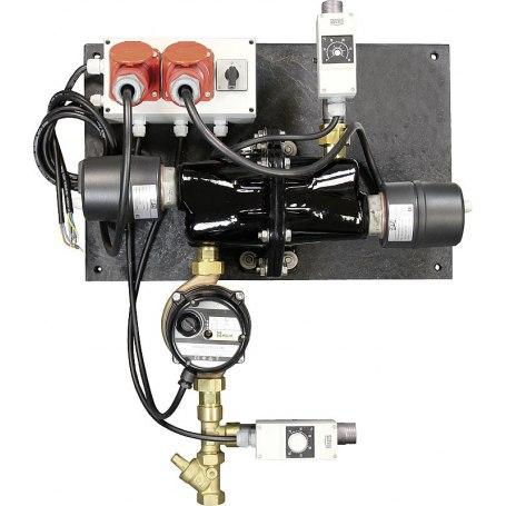 Umlaufheizsystem Mod. 312, 6000W/400V, mit Thermostat und Umlaufpumpe