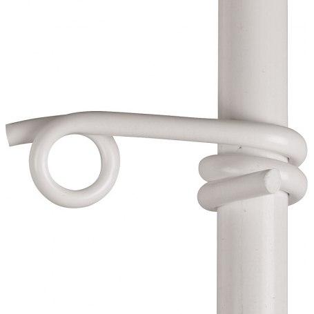 Kunststofföse für Litzen und Seile für Pfähle Ø 10 mm, 251825