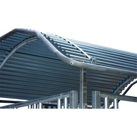 Dachkanten-Schutzbügel für Großballenraufen von Patura